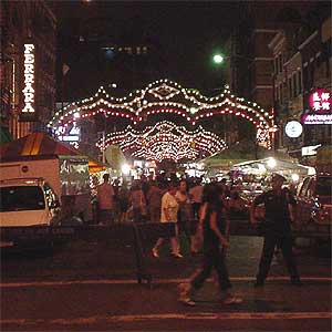 Pictures of the Festival of San Genaro